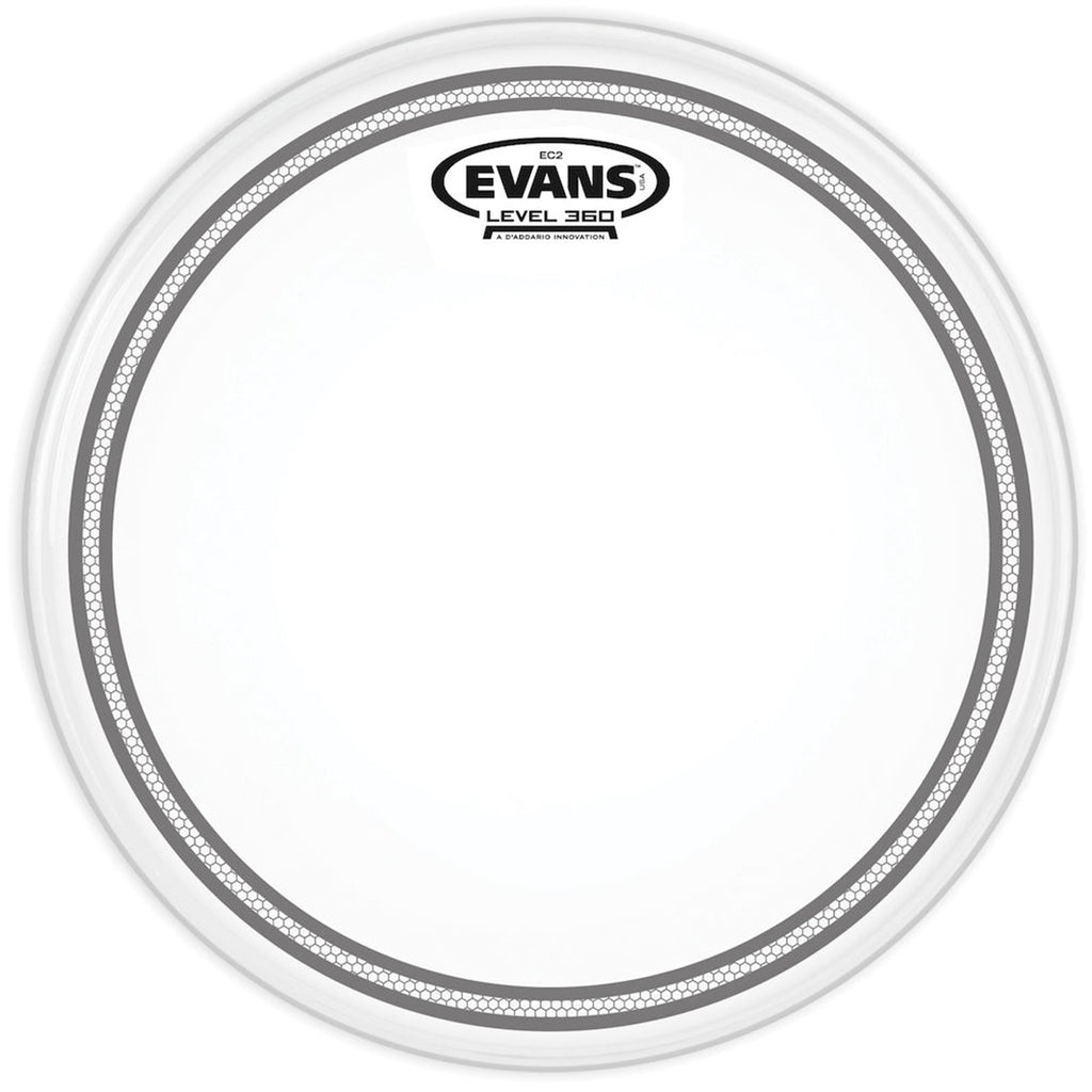 "EVANS B12EC2S 12"" EC2 Frosted Drum Head"