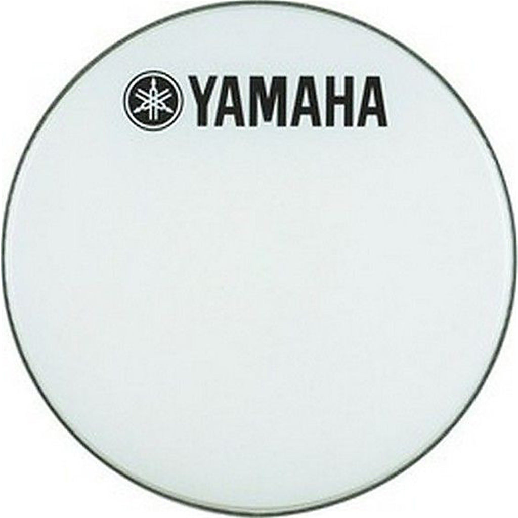 "YAMAHA DHBR1224 24"" Smooth White Bass Drum Head w/Logo"