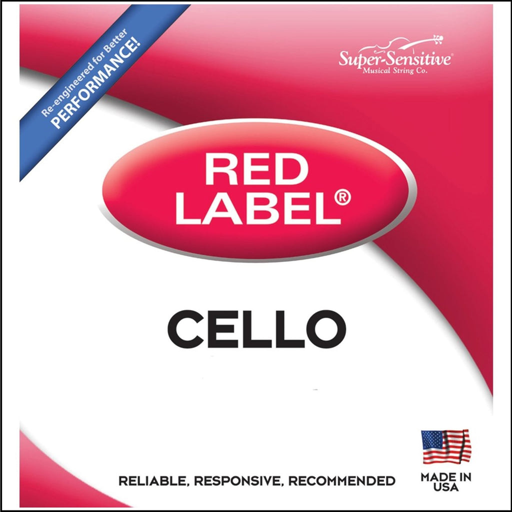 SUPER SENSITIVE 14SS612 1/4 Cello D String