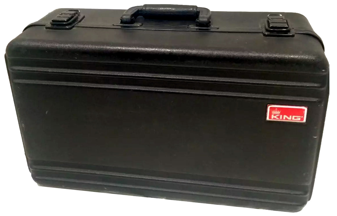King 7500C Rectangle Trumpet Case