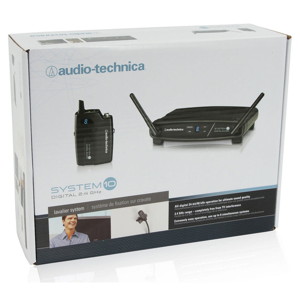 AUDIO TECHNICA ATW1101L System 10 Wireless Lavalier Microphone System