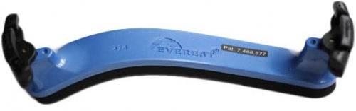 EVEREST ES4B 4/4 Violin Shoulder Rest - Blue
