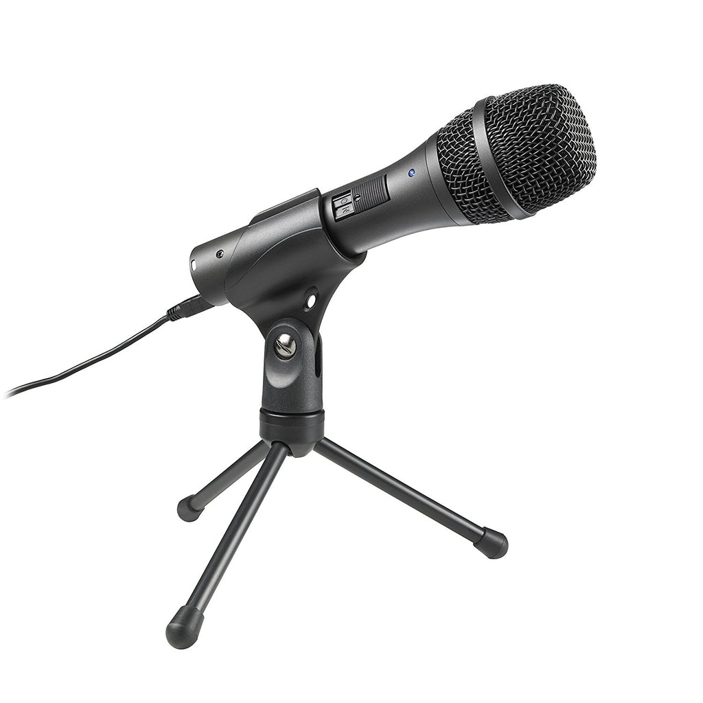 AUDIO TECHNICA AT2005USB Dynamic Handheld Microphone w/ USB & XLR Outputs