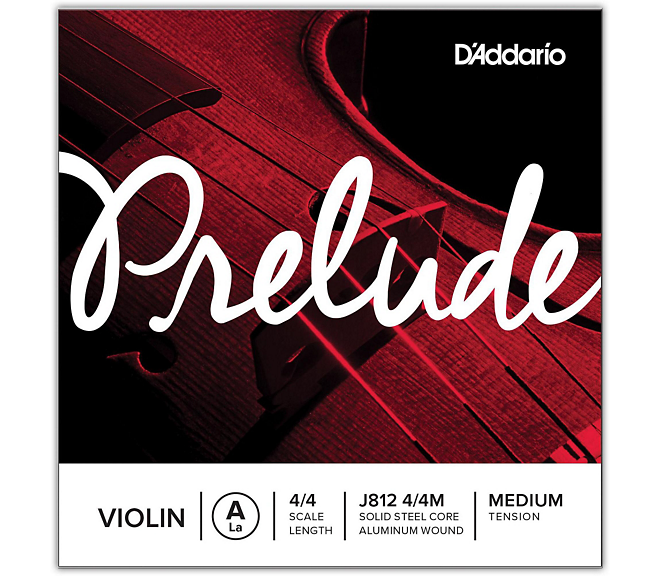 D'ADDARIO J101144M 4/4 Prelude Cello Single A String, Medium Tension