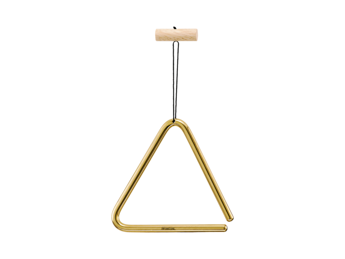 "MEINL PERCUSSN TRI15B 6"" Brass Triangle w/ Beater"