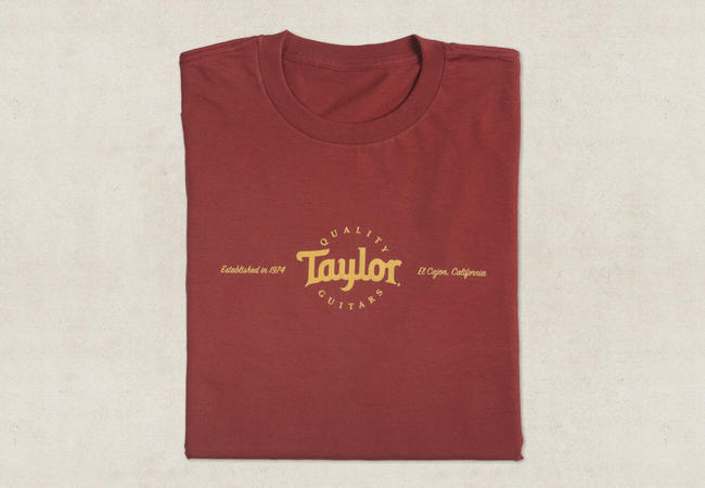 Taylor 16539 Mens Classic T Shirt, Red (XXXL)