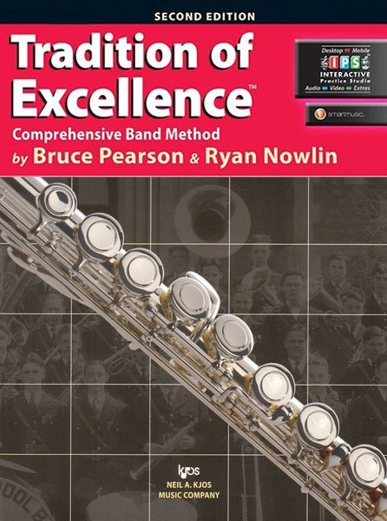 KJOS W61FL Tradition of Excellence Flute Book 1