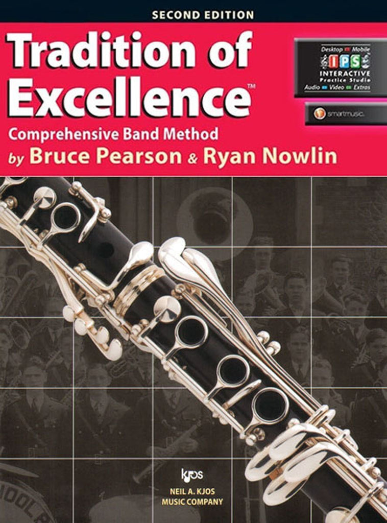 KJOS W61CL Tradition of Excellence Clarinet Book 1