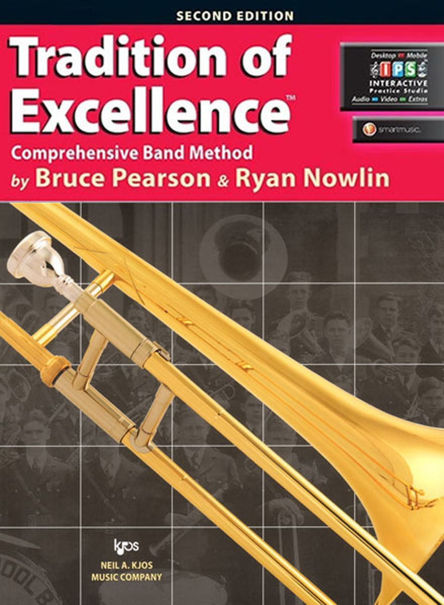 KJOS W61TB Tradition of Excellence Trombone Book 1