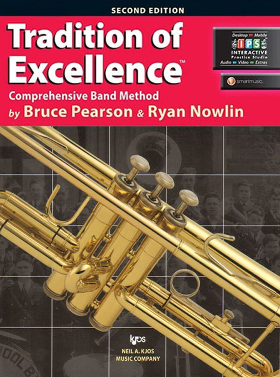 KJOS W61TP Tradition of Excellence Trumpet Book 1