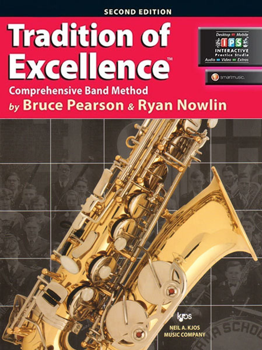 KJOS W61XE Tradition of Excellence Alto Sax Book 1