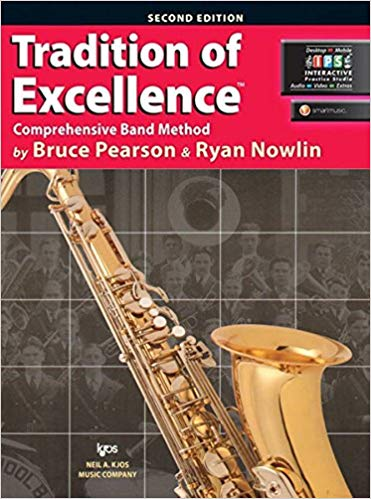 KJOS W61XB Tradition of Excellence Tenor Sax Book 1