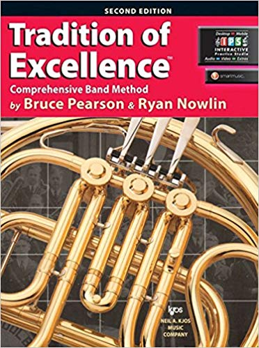 KJOS W61HF Tradition of Excellence French Horn Book 1