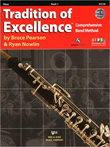 KJOS W61OB Tradition of Excellence Oboe Book 1