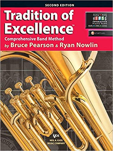 KJOS W61BC Tradition of Excellence BC Baritone Book 1