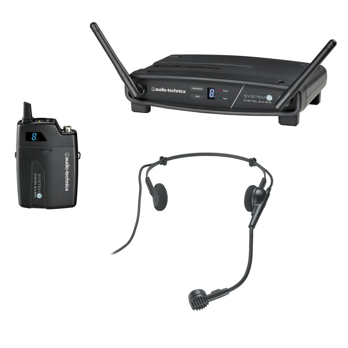 AUDIO TECHNICA ATW1101H System 10 Wireless Headworn Mic/Receiver