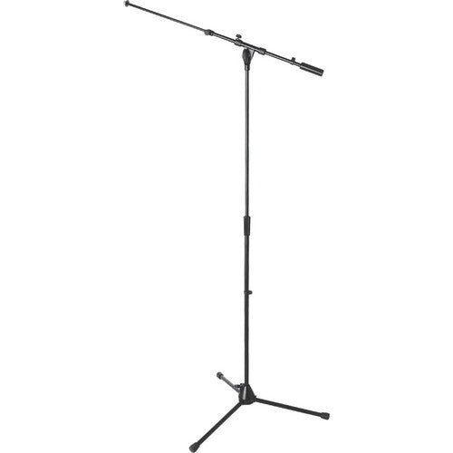 ON STAGE MS9701TB+ Heavy-Duty Tele-Boom Mic Stand