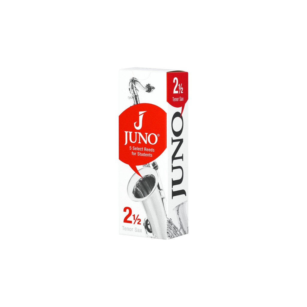 JUNO JSR7125 #2.5 Bb Tenor Sax Reeds, Box of 5