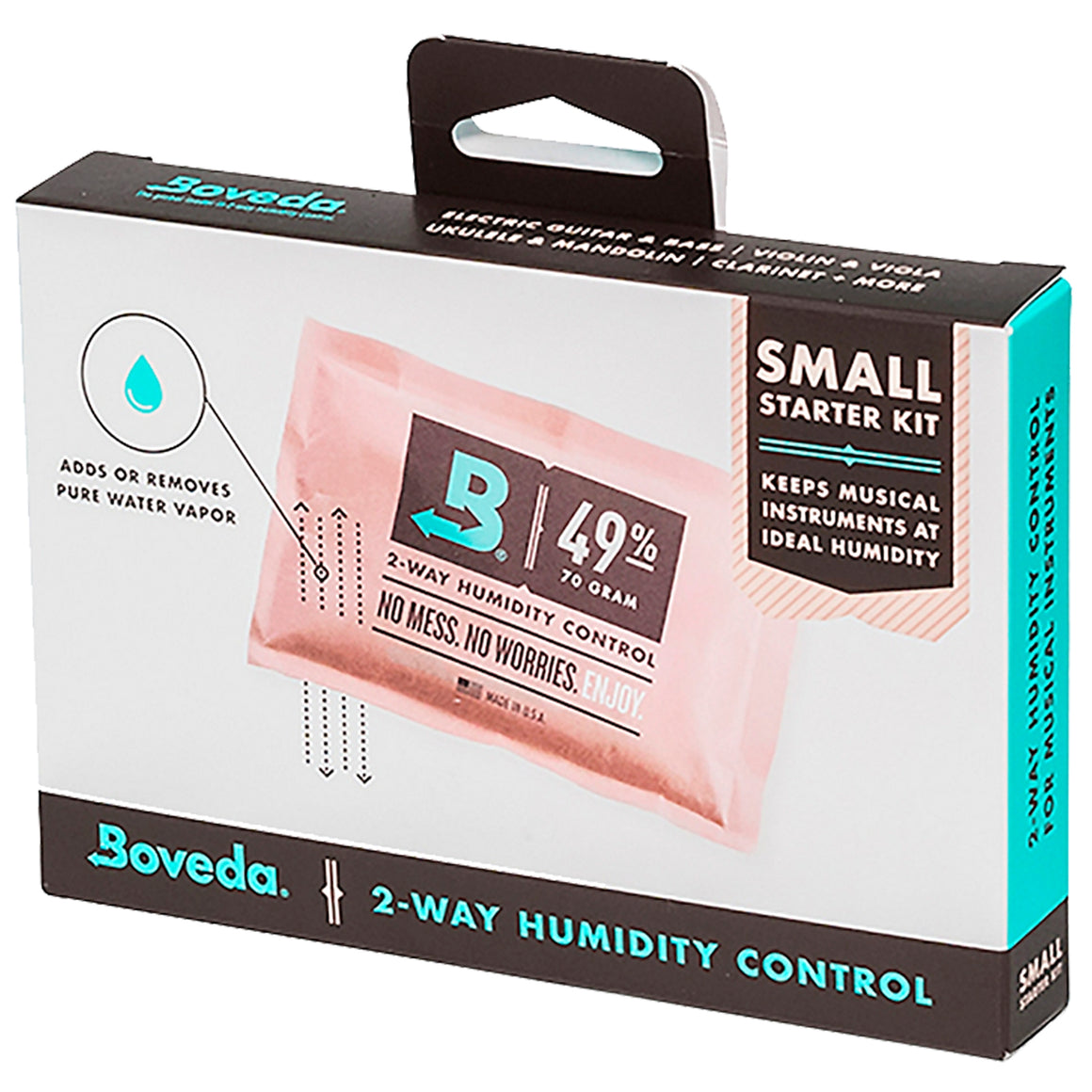 Boveda BVMFKSM Small 2-Way Humidity Control Starter Kit