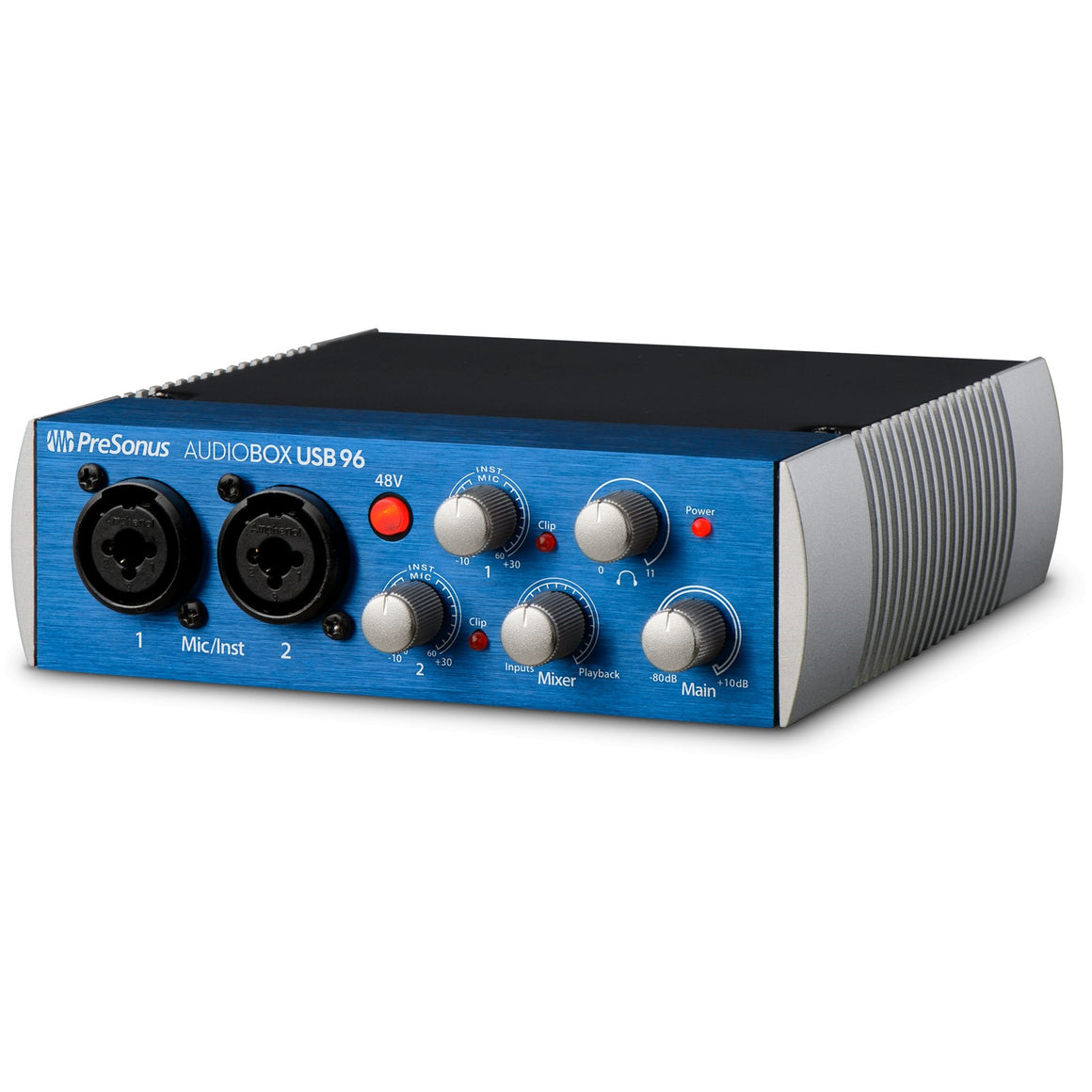 PreSonus ABOXUSB96STUDIO 2x2 USB 2.0 Interface Bundle w/ Mic,Headphones, Cables, and Software