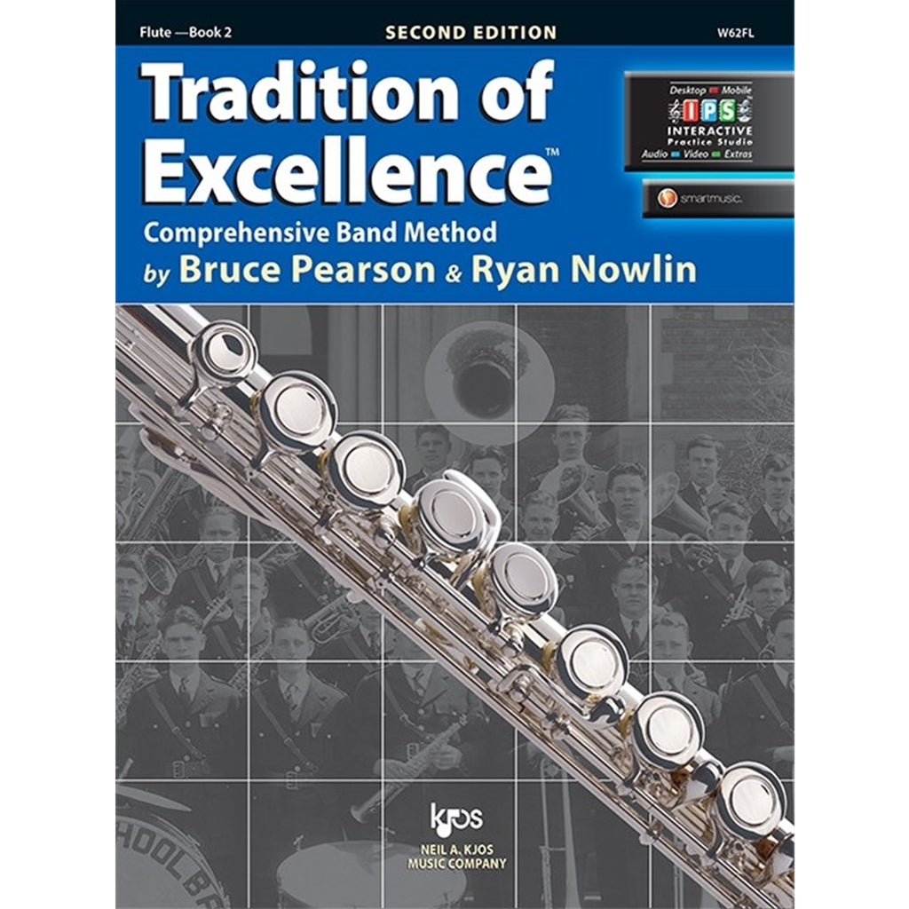KJOS W62FL Tradition of Excellence Flute Bk 2