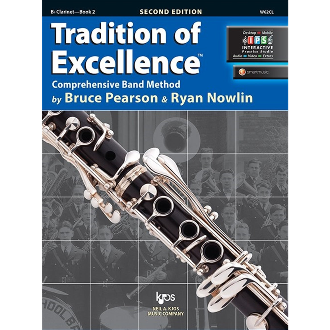 KJOS W62CL Tradition of Excellence Clarinet Bk 2