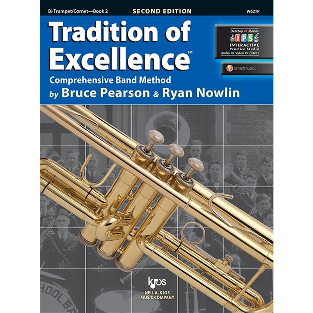KJOS W62TP Tradition of Excellence Trumpet Bk 2