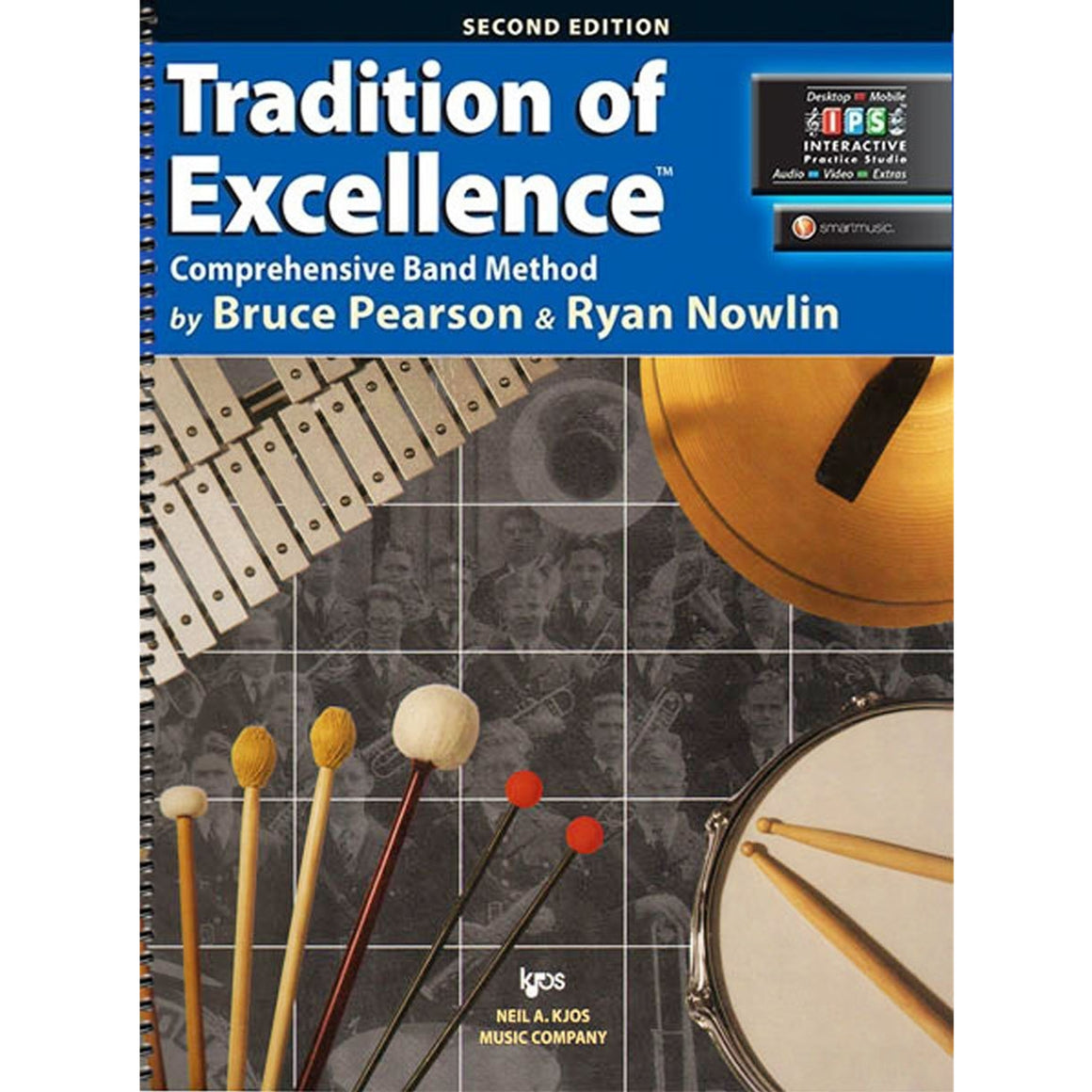 KJOS W62PR Tradition of Excellence Percussion Bk 2