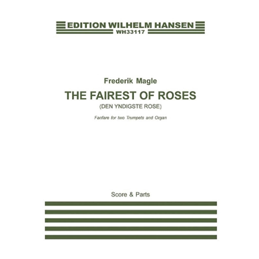 HAL LEONARD 286547 The Fairest of Roses (Den Yndigste Rose) Fanfare for Two Trumpets and Organ