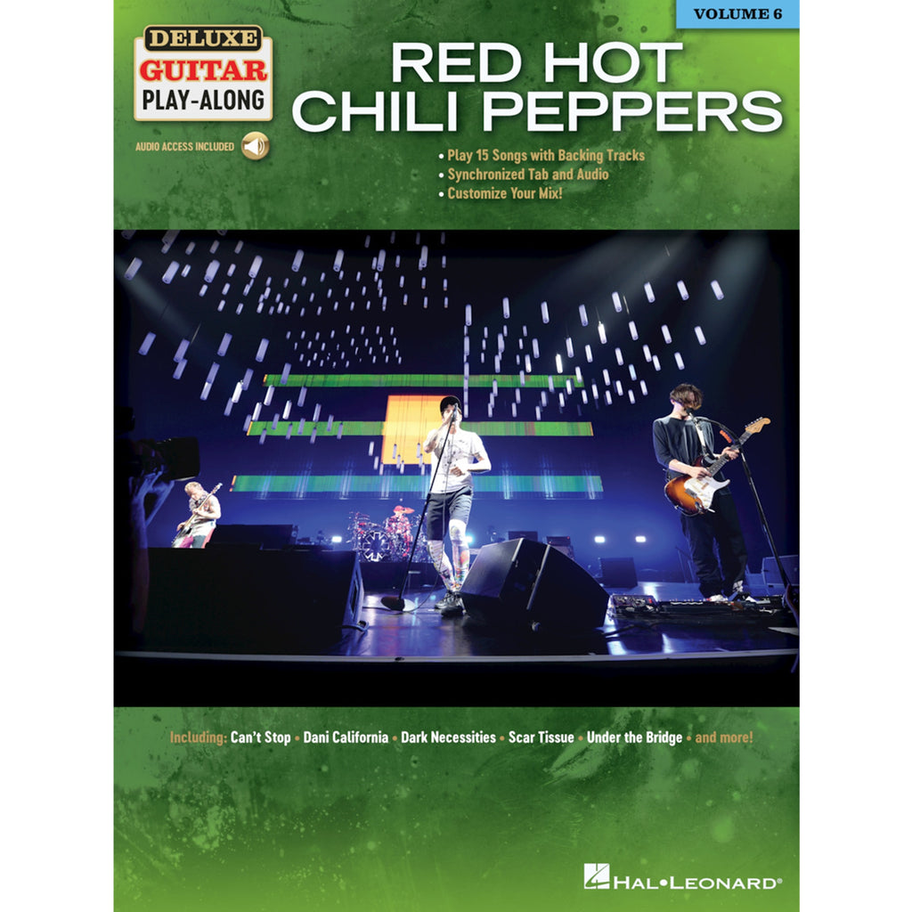 HAL LEONARD 245089 Red Hot Chili Peppers Deluxe Guitar Play-Along Volume 6