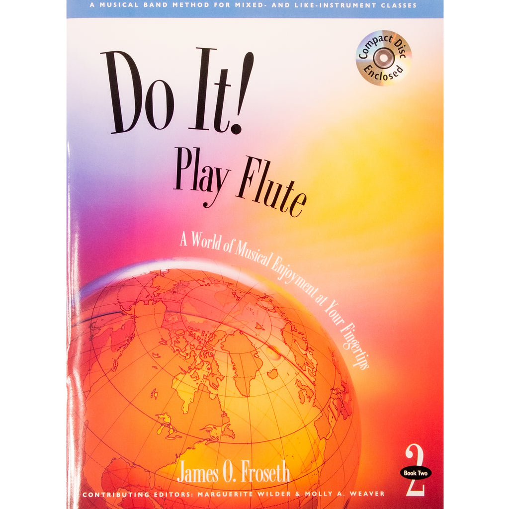 GIA PUBLISHER M494 Do it! Play Flute Book 2 w/ CD