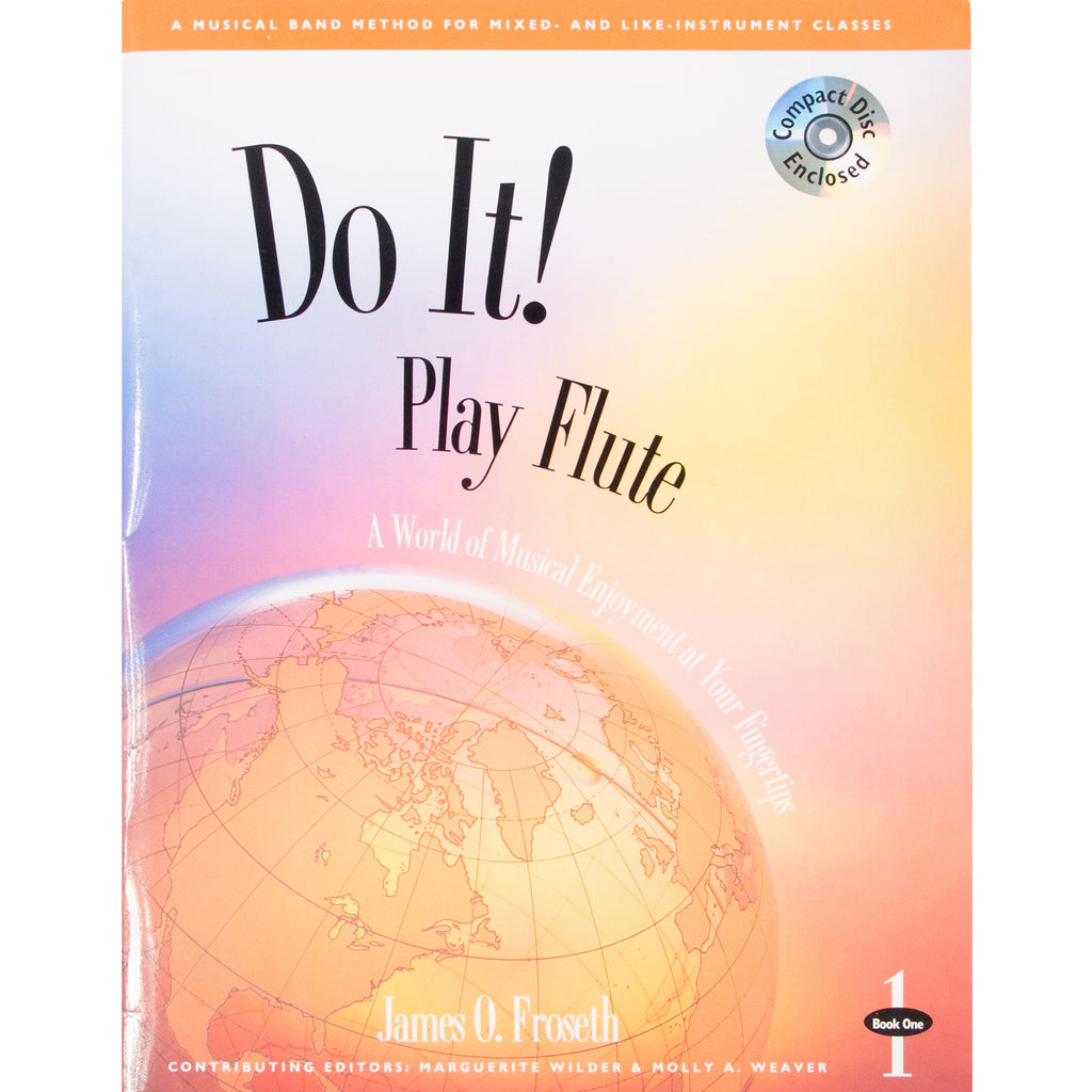 GIA PUBLISHER M454 Do it! Play Flute Book 1 w/ MP3s