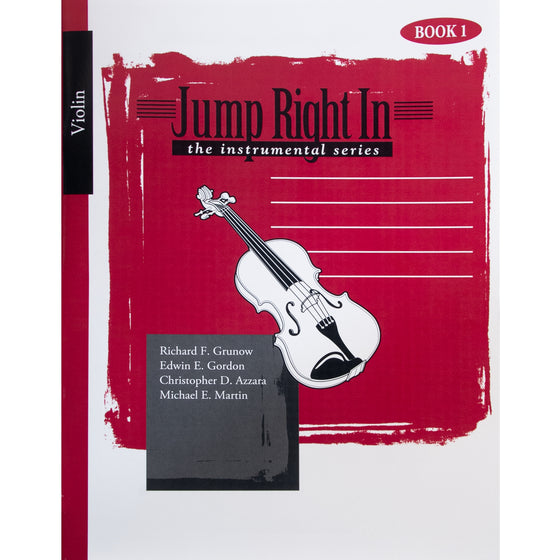 GIA PUBLISHER J320 Jump Right In: Student Book 1 - Violin (Book with mp3)