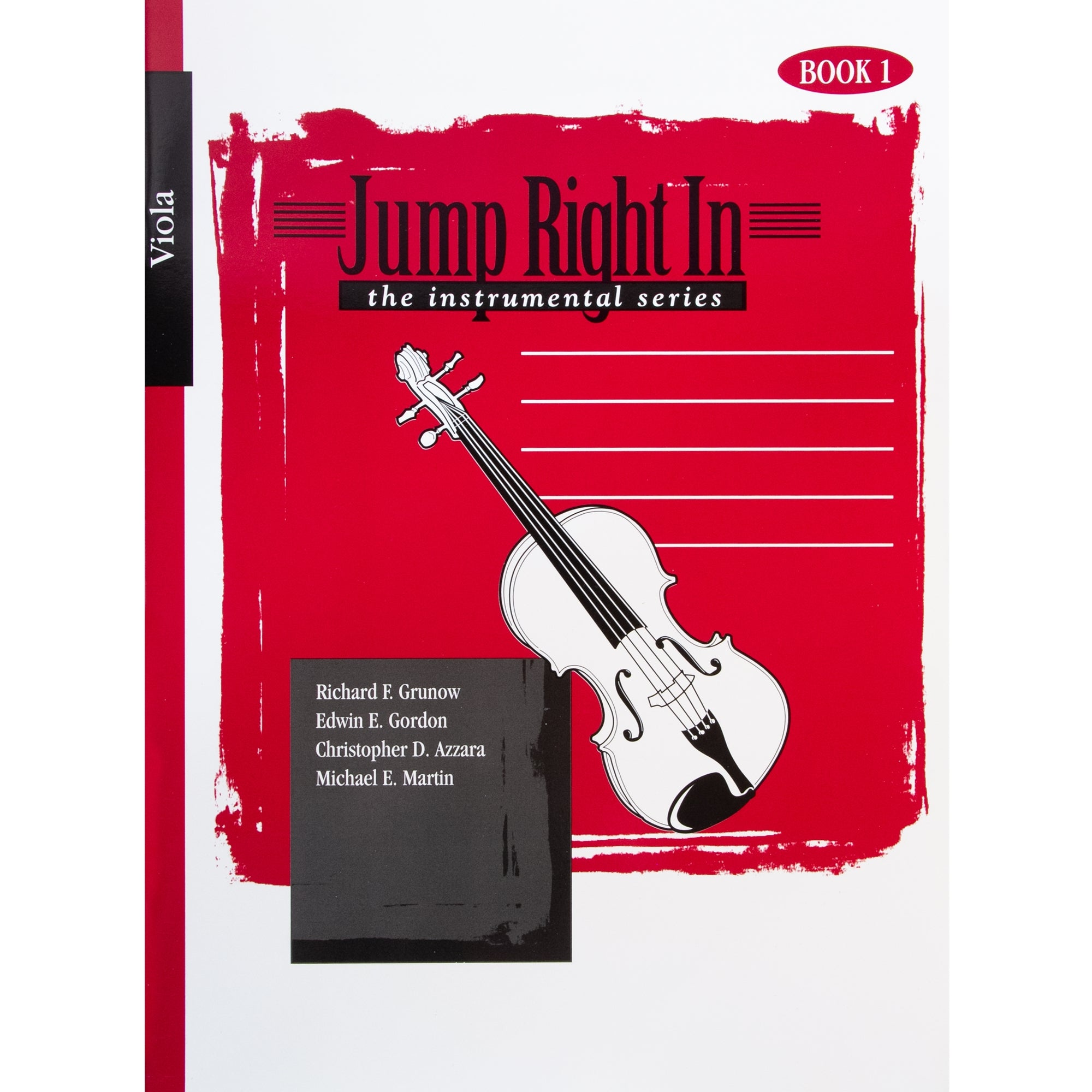 GIA PUBLISHER J323 Jump Right In: Student Book 1 - Viola (Book with mp3)