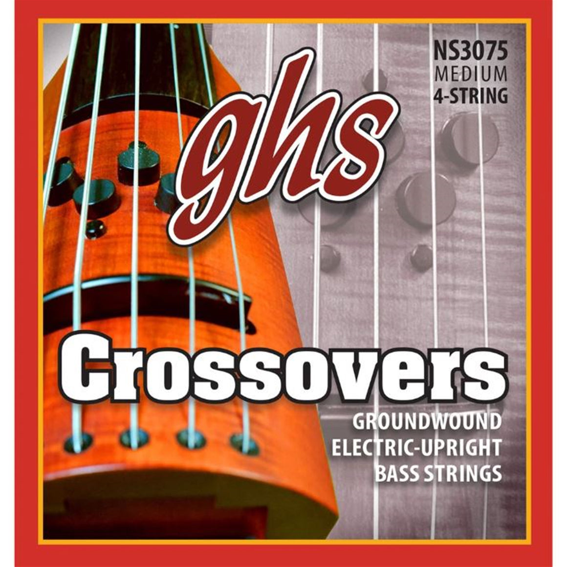 GHS NS3075 Crossovers Upright Electric Bass Strings (47-105) NS Design
