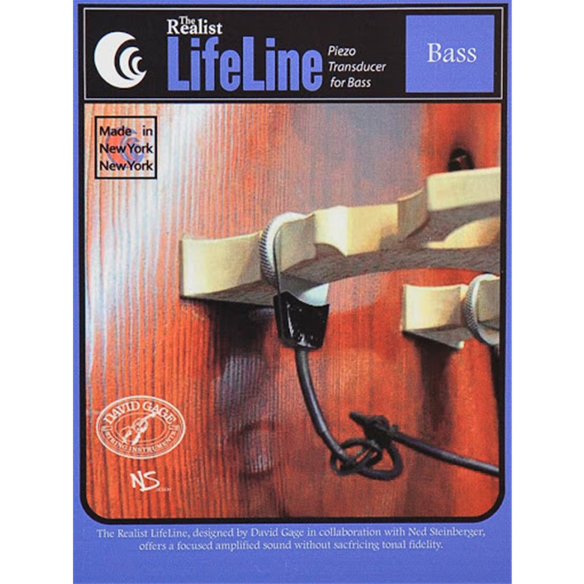 REALIST RLSTLL1 LifeLine Bass Pickup (Bridge Installation)
