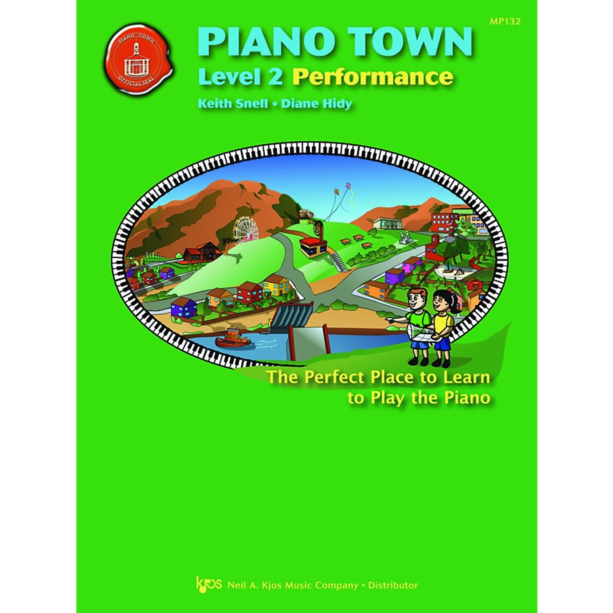 KJOS MP132 Piano Town Performance Level 2