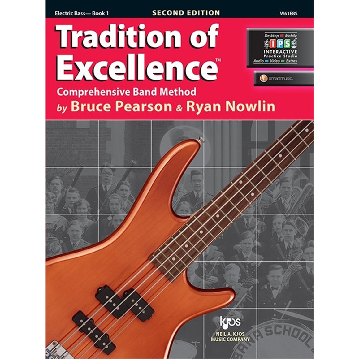 KJOS W61EBS Tradition of Excellence Electric Bass Book 1