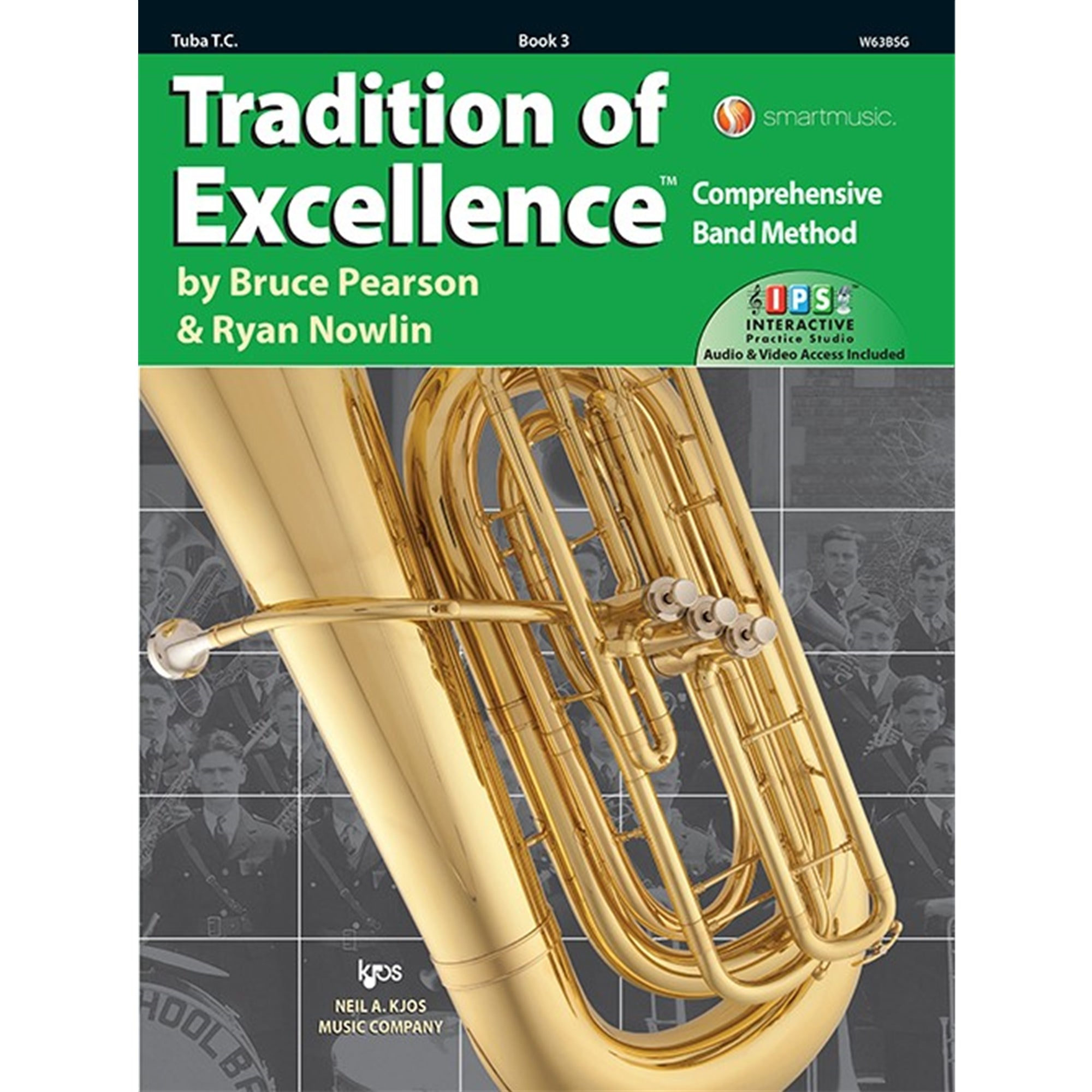 KJOS W63BSG Tradition of Excellence Tuba T.C Book 3