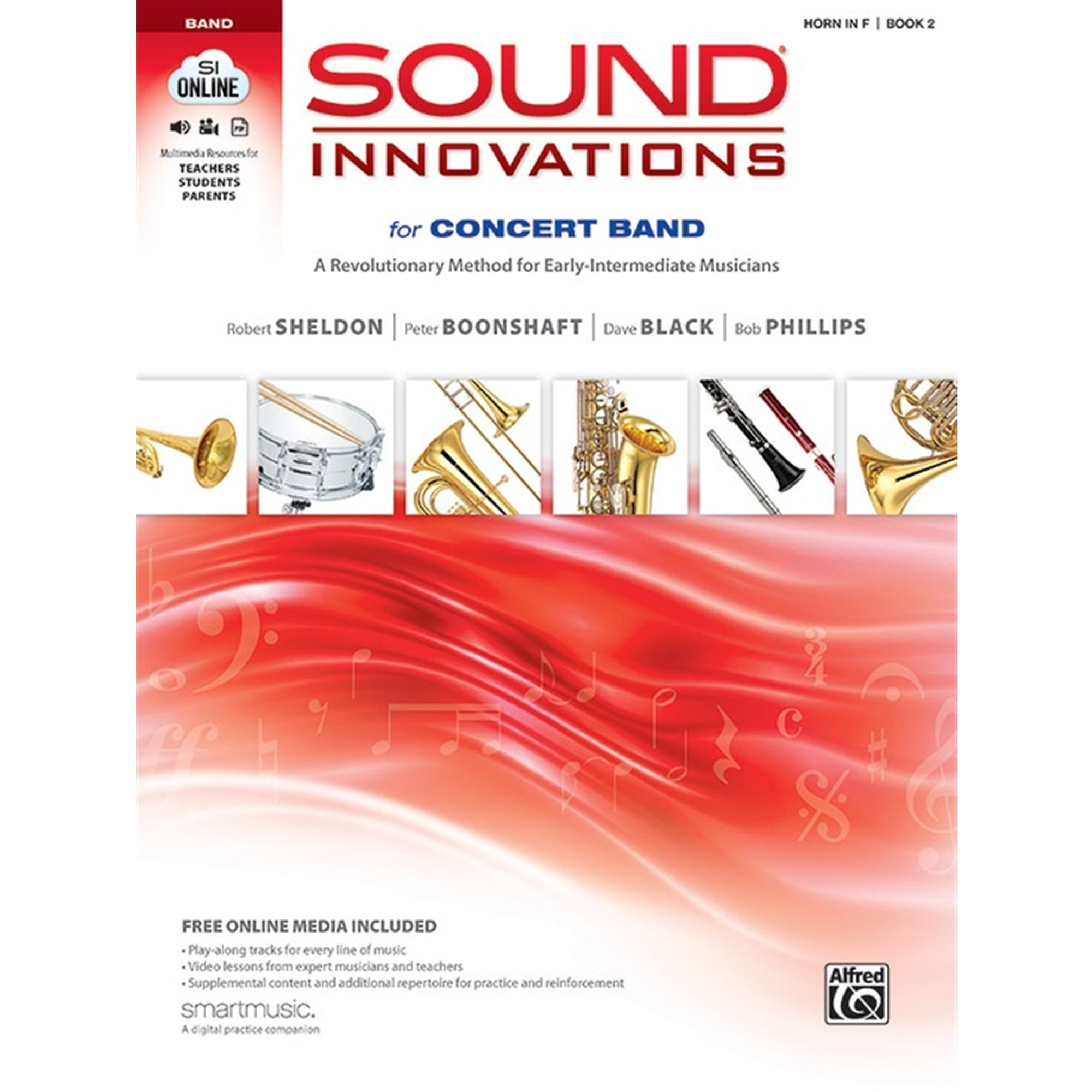 ALFRED 34559 Sound Innovations for Band F Horn Book 2
