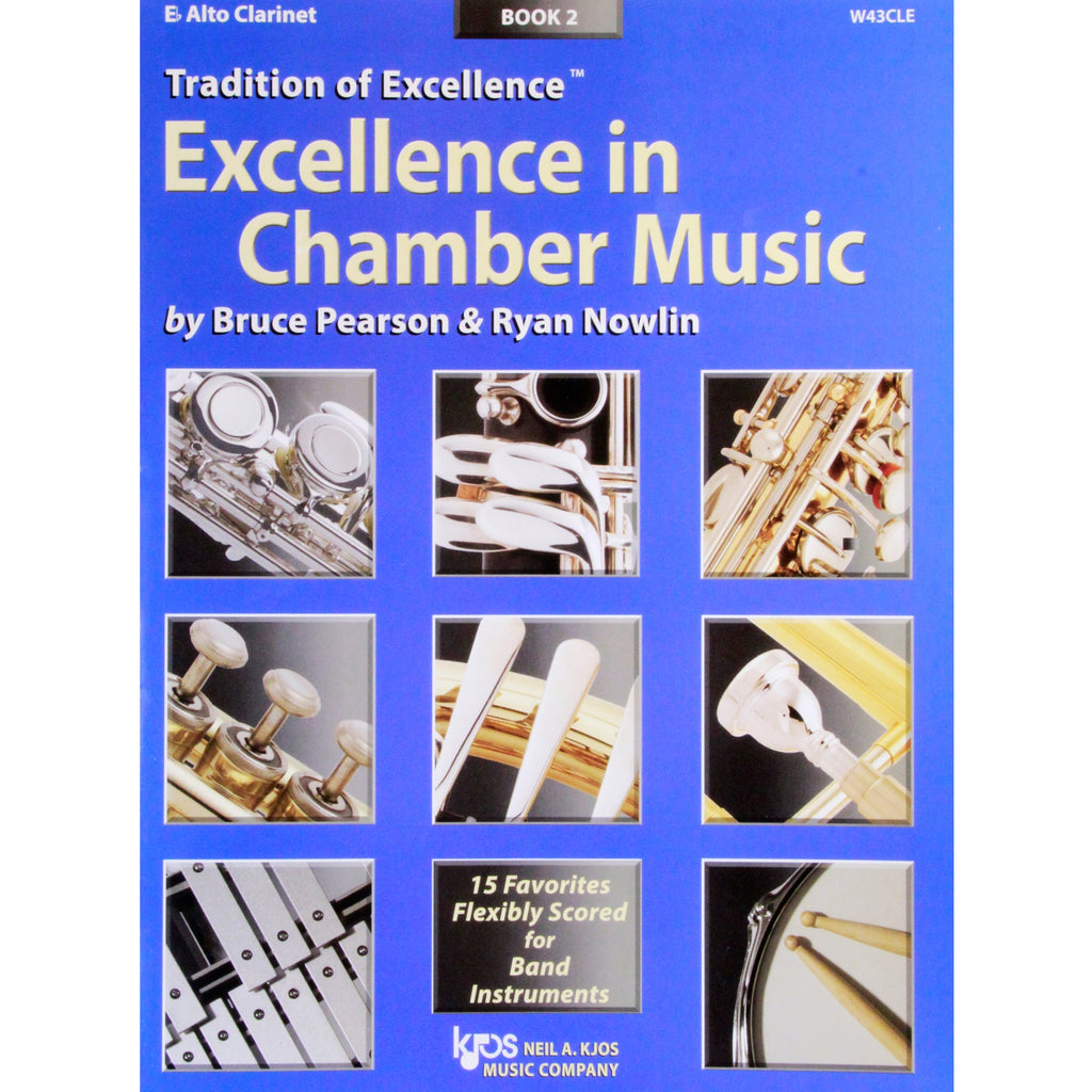 KJOS W43CLE TOE Excellence in Chamber Music Book 2 Alto Clarinet