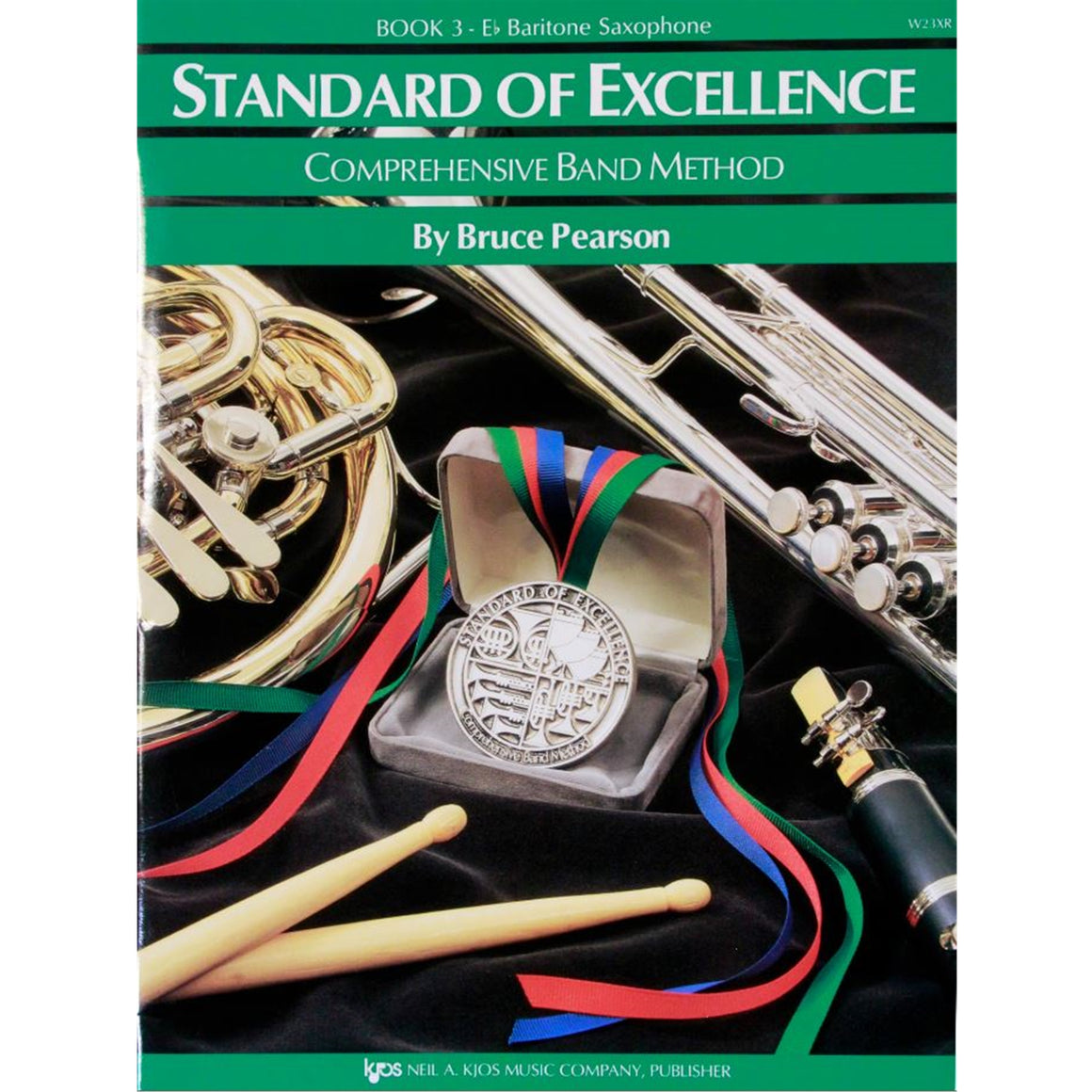 KJOS W23XR Standard of Excellence Book 3, Bari Sax