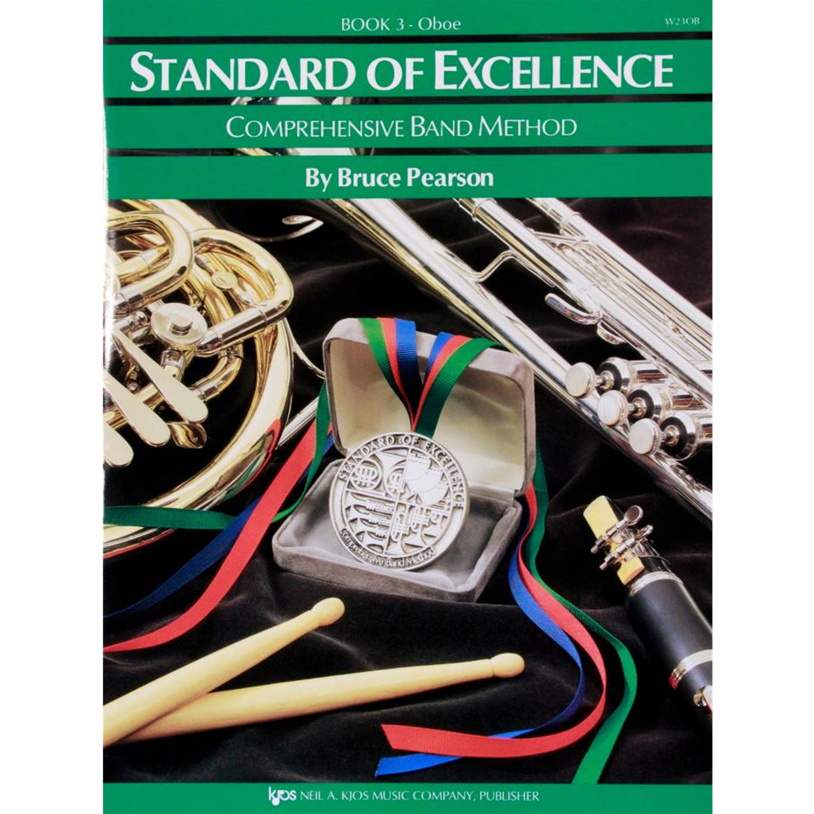 KJOS W23OB Standard of Excellence Book 3, Oboe
