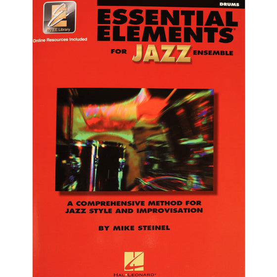 HAL LEONARD 841355 Essential Elements for Jazz Ensemble – Drums