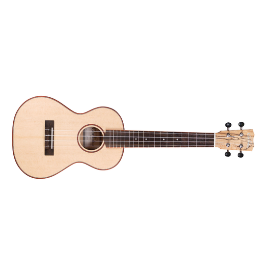 CORDOBA 24T Tenor Solid Spruce/Spalted Maple Ukulele (Natural)