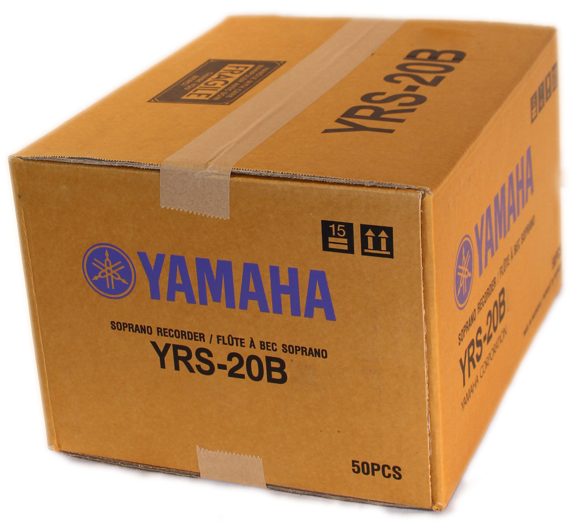 Yamaha YRS-20B Recorders (Box of 50)