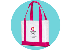 Regular Girl Tote Bag