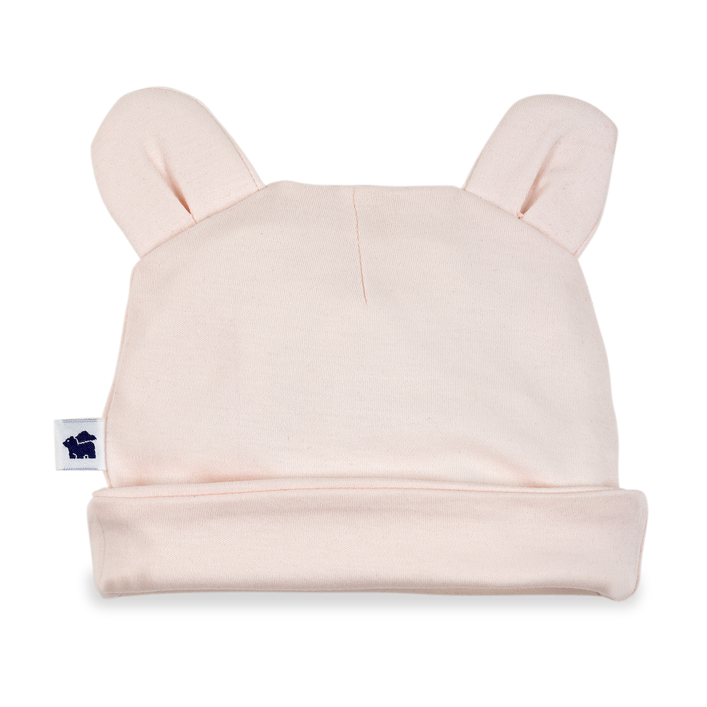 Bear Ear Hat 2.0 - Light Pink