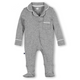 Classic Pajama Footie - heather grey