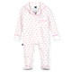 Classic Pajama Footie - Pink Bows